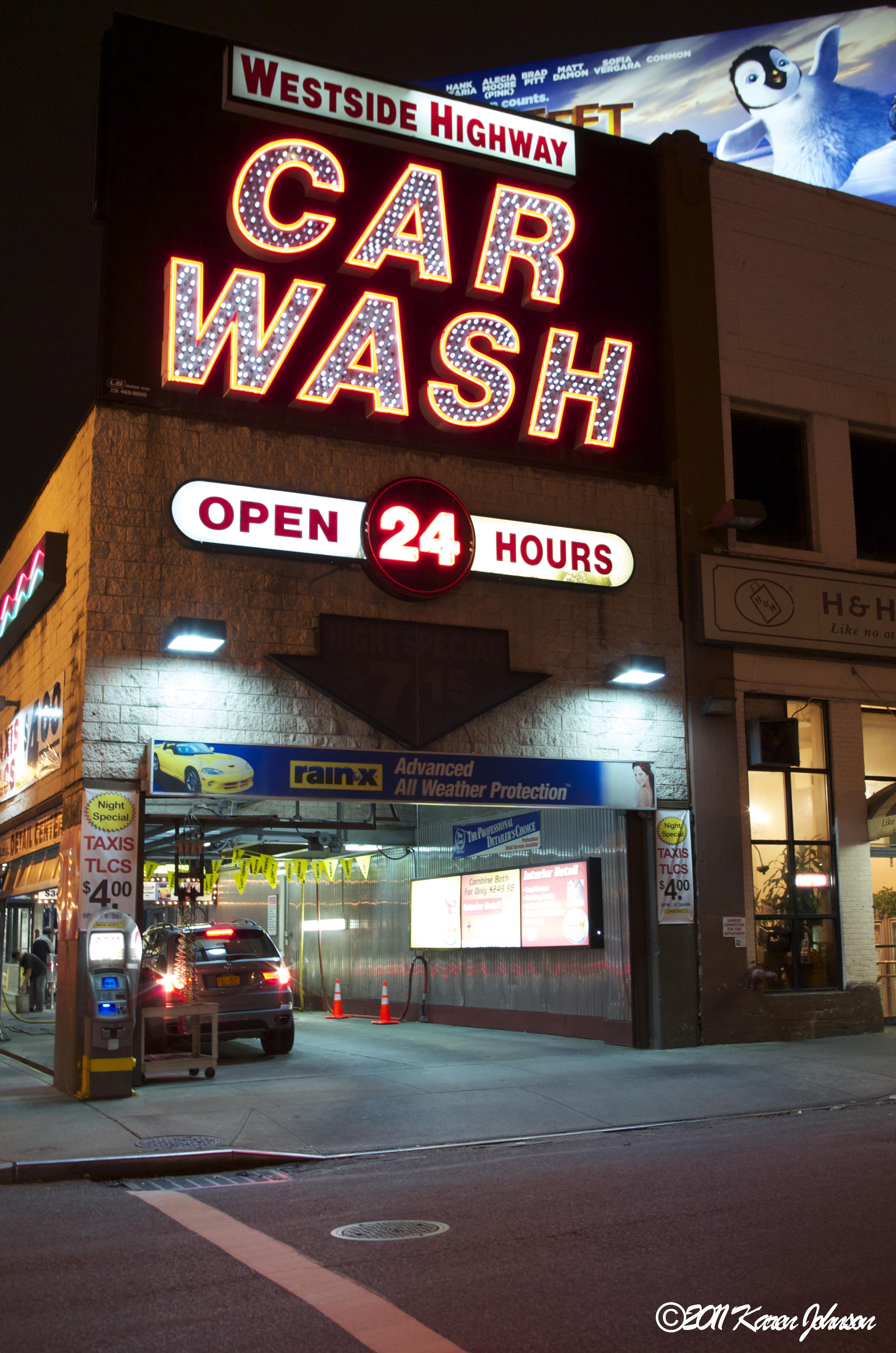 Car Wash Lighting Design