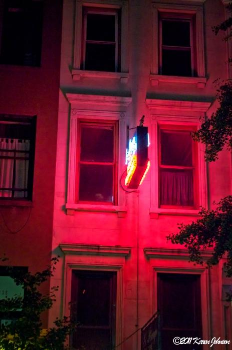 Neon Hells Kitchen Sign