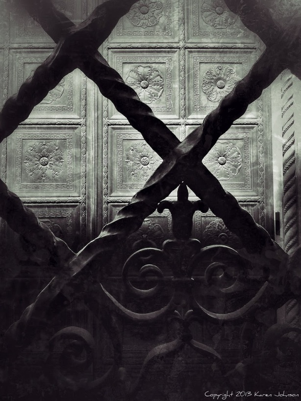 Morgan Library Gate