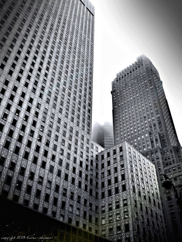 NYC in the Fog 42nd Street