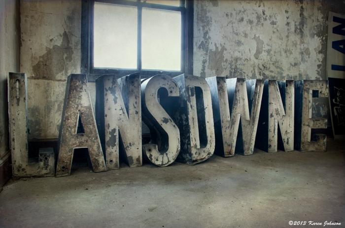 Lansdown Sign Letters sm