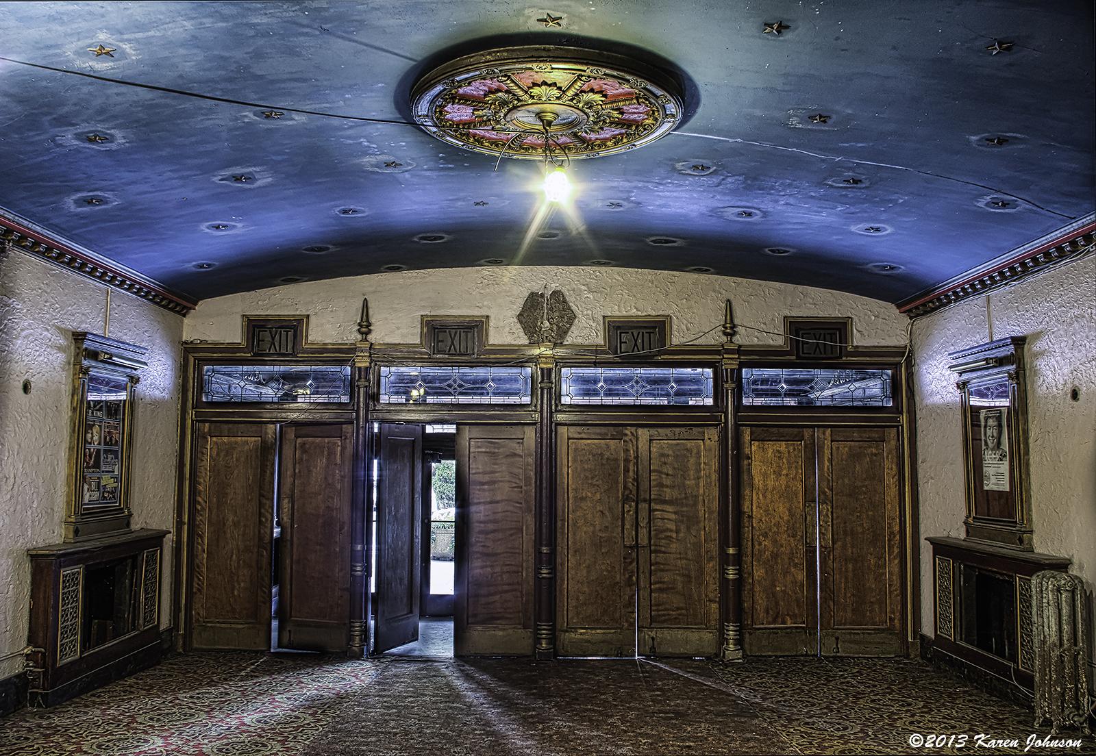 Lansdown Theater Front Doors Final sm & Lansdowne Theater | Karen Johnson - A Photographic Life