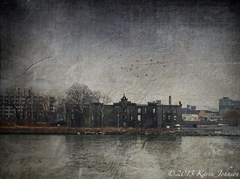 Roosevelt Island Abandoned Hospitalsm