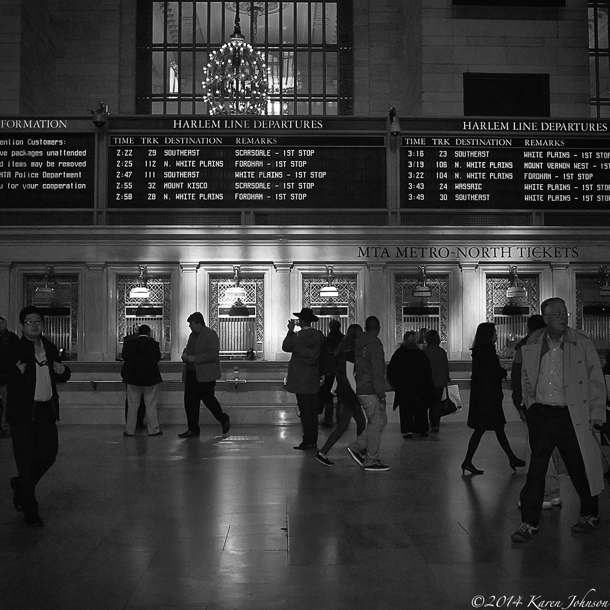 Grand central station karen johnson a photographic life