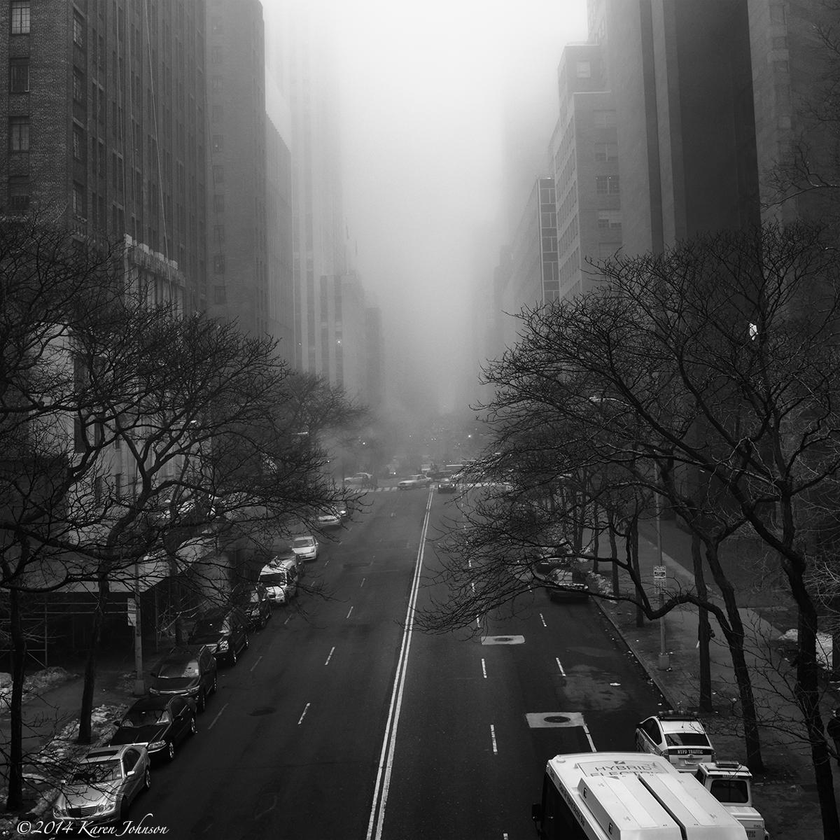 NYC Fog | Karen Johnson - A Photographic Life